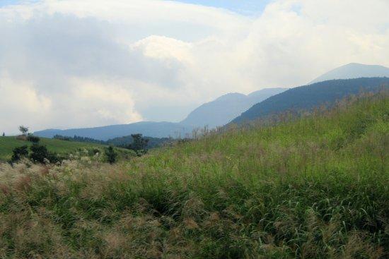 Oita Prefecture, Japón: やまなみハイウェイからの眺め