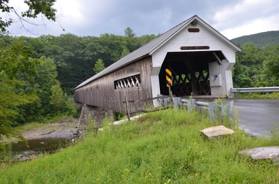 ‪Cornish-Windsor Covered Bridge‬ صورة فوتوغرافية