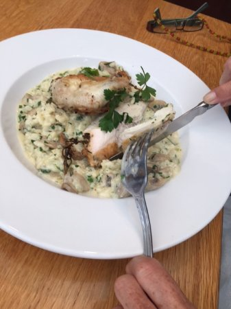Birdham, UK: Chicken risotto