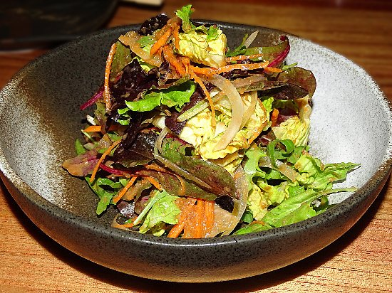 caesar salad bild von katana dubai tripadvisor. Black Bedroom Furniture Sets. Home Design Ideas