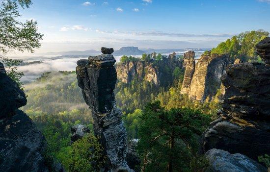 Saxon Switzerland National Park: Nationaal park Sächsische Schweiz (foto van Philipp Ziegler)