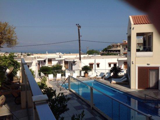 Esthisis Suites: Udsigt fra terrassen