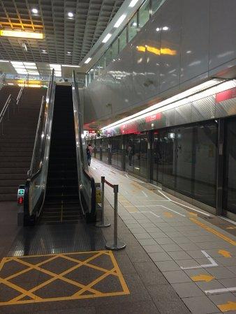 Kaohsiung Subway: 駅構内の様子