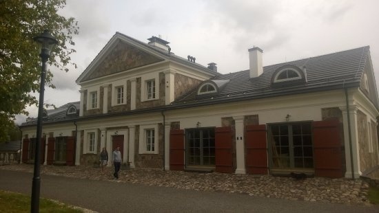 Ignalina, Lituanie : Le bâtiment où se trouve les chambres