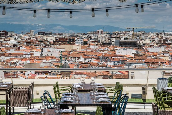 Great Rooftop Terrace Review Of Azotea Del Circulo Madrid