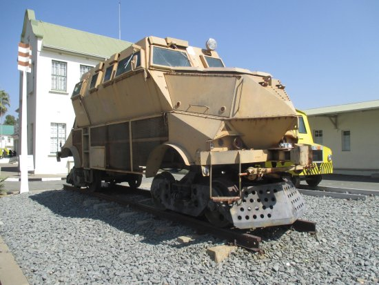 TransNamib Museum - Review of Trans-Namib Railroad
