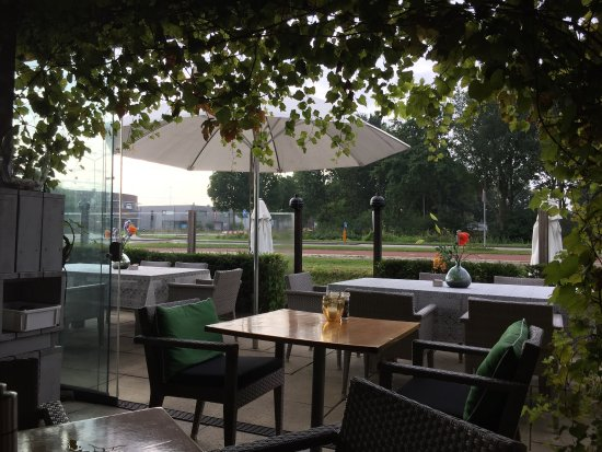 Heerhugowaard, Holland: Outside seating