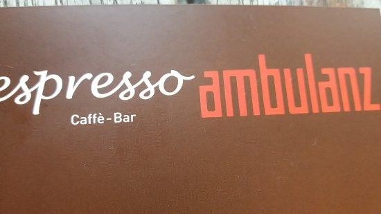 espresso-ambulanz ภาพถ่าย