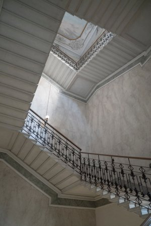 The Suspended Staircase At Aman Venice