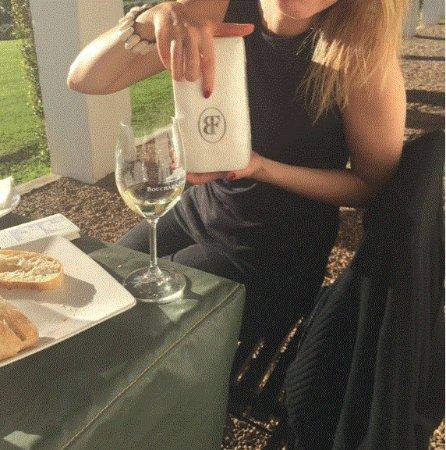Hermanus, Sudáfrica: Lekker ontspannen met een wijntje