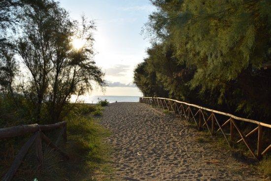 Brezza di Mare: ingresso riserva Sentina
