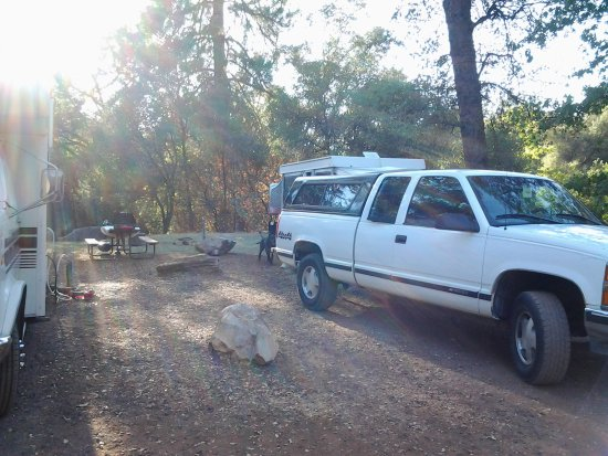 Columbia, Californie : One of our many campsites