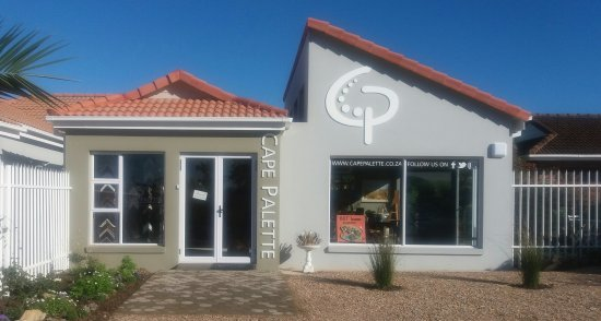 George, South Africa: cape palette artist studio
