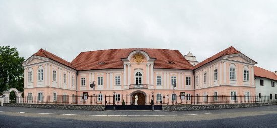Susice, Republik Ceko: Průčelí zámku