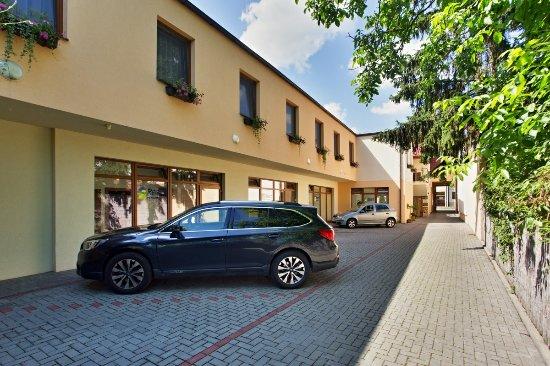 Kyjov, Republik Ceko: Parking lot