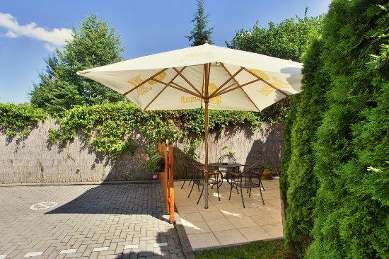 Kyjov, Republik Ceko: Outdoor seating