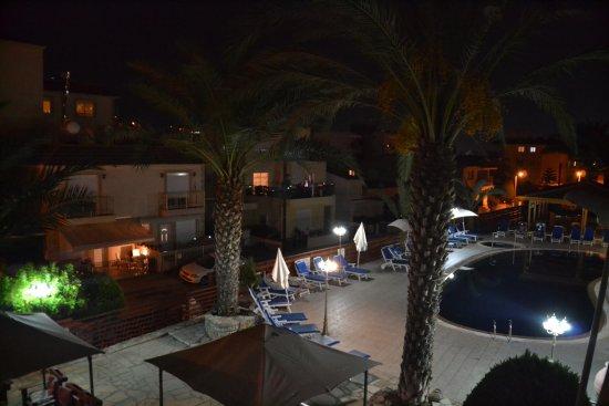 Yermasoyia, Chipre: Вид с балкона
