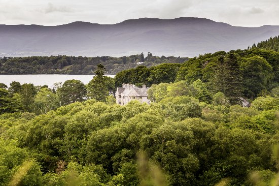 Caragh Lake, Irlandia: En arrivant à l'hotel