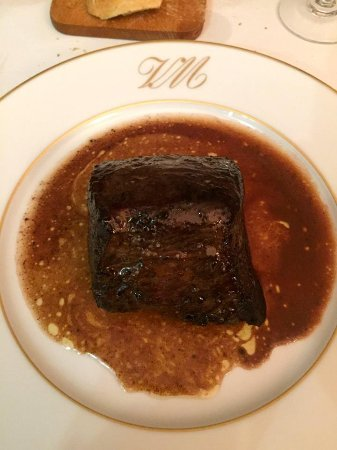 La Villa Mahana: Beef with incredible sauce!