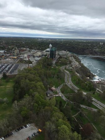 view from revolving restaurant picture of skylon tower revolving rh tripadvisor com