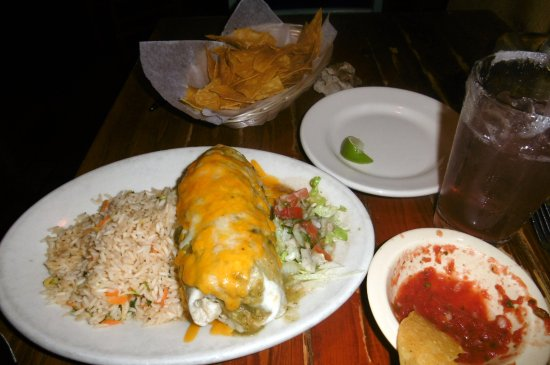 Zuma Tex-Mex: Burrito