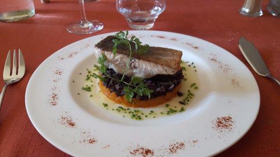 Herepian, Prancis: saumon sauvage sur son lit....