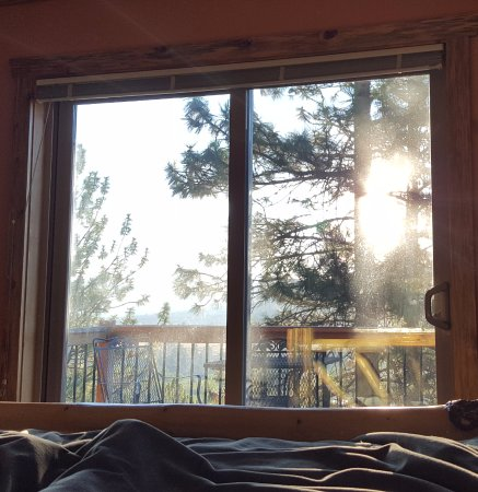 Blue Mountain Bed & Breakfast: View from our most comfy bed!