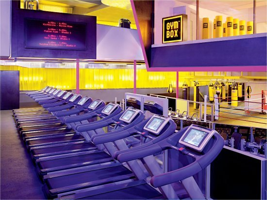 St Martins Lane London Hotel : Gymbox