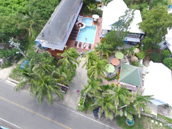 Sunset Hotel: Hotel Sunset desde el aire