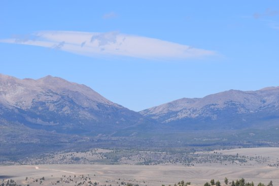 Lander, WY: Sweetwater Gap - our view during our picnic lunch