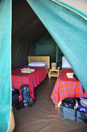 During a tour in Uganda we stayed there 3 nights!