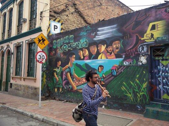 Bogota Graffiti Tour: Bogota Grafitti Tour
