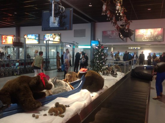 Santa Claus Holiday Village: Rovaniemi Airport