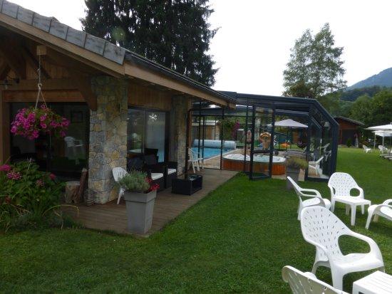 Hotel Residence Gai Soleil: le spa et la piscine