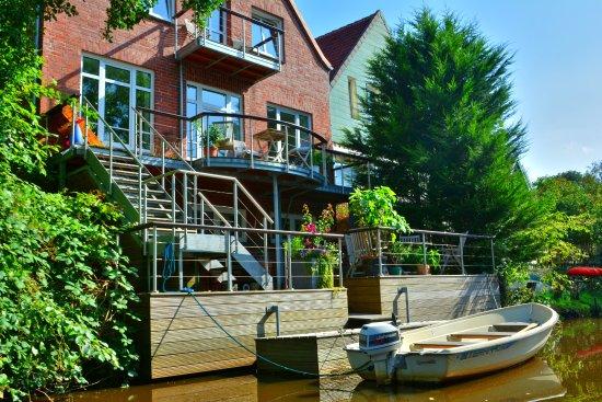 Otterndorf, Alemania: Bootsfahrt auf der Medem