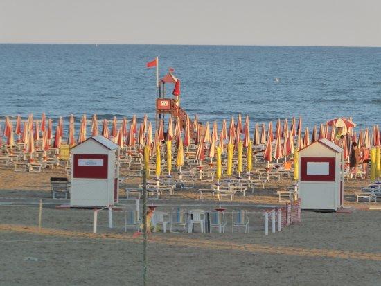 Hotel Verona : Abend am Strand