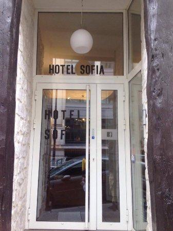 Hotel Sofia: entrata