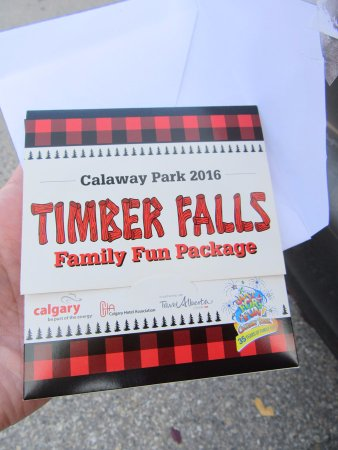 Calaway Park : Hotel ticket package was a good dea!