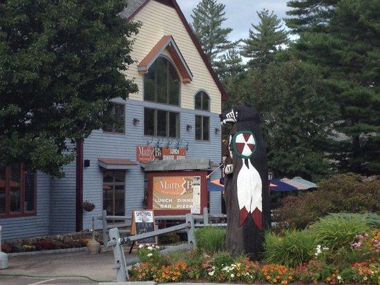 Matty B's Mountainside Cafe: Matty B's exterior