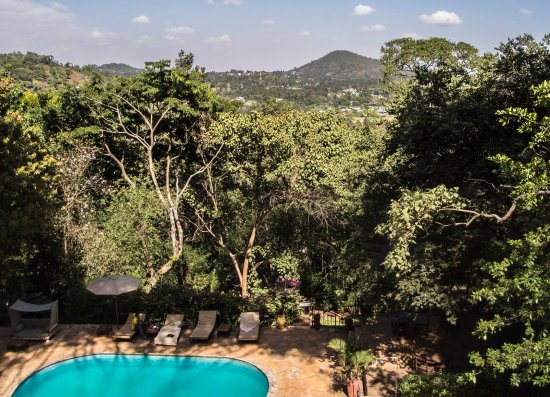 Karama Lodge & Spa : View from the bar