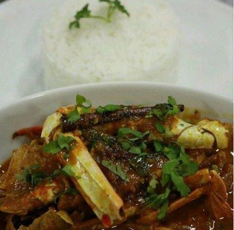 Aïoli Restaurant: Chili Crab Curry