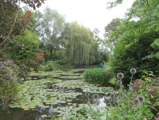 Lignan-De-Bordeaux, Frankrijk: Monet's Garden in Giverny, France