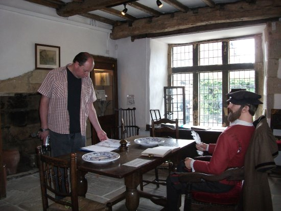 Bakewell Old House Museum: Tax assessor's room