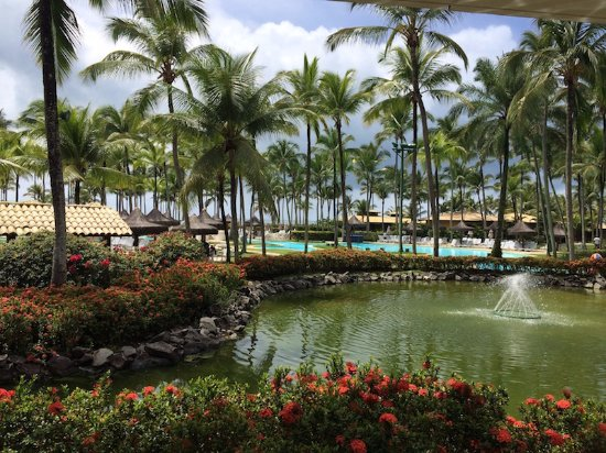 Hotel Transamerica Ilha de Comandatuba: Esse e o visual do restaurante central