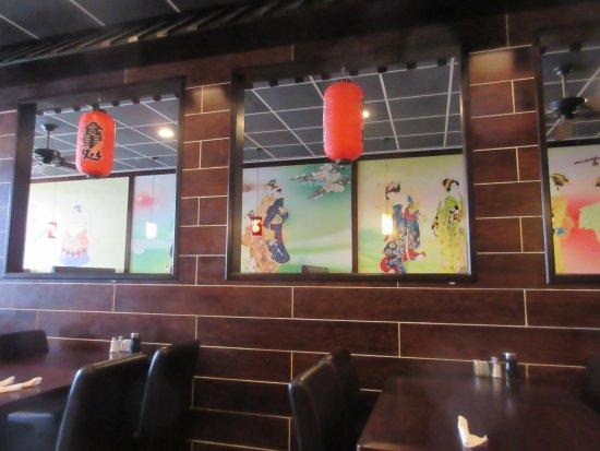 Milford, DE: Inside decoration has Japanese artifacts