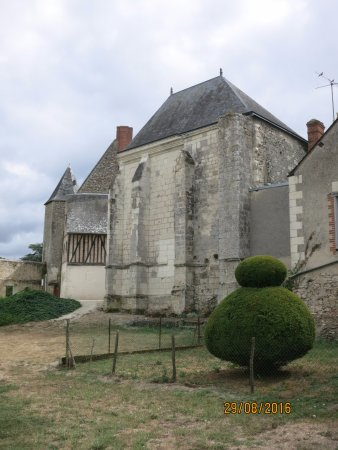 Cormery, France : vestiges