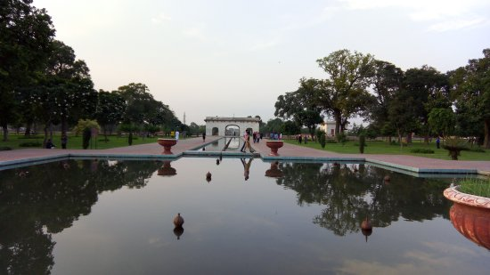 Fort and Shalamar Gardens: Fountains
