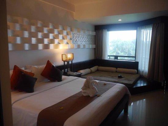 Bintan Lagoon Resort: Deluxe room (Sea view)