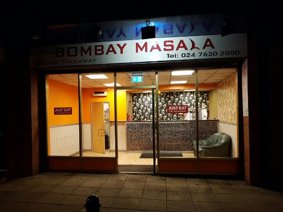Bombay Masala Coventry Restaurant Reviews Photos Phone