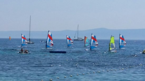Brac Island, Croatia: Johnny's Windy Way